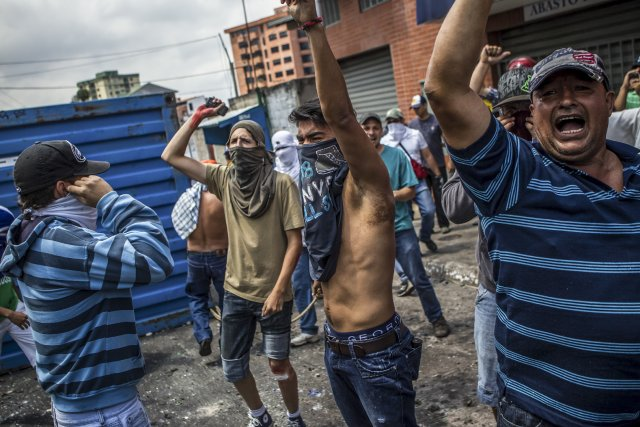 Soutenu par une partie de l'opposition, le mouvement... (Photo Meridith Kohut, The New York Times)