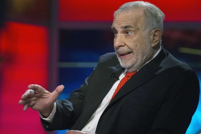 Carl Icahn détient seulement 2,15% d'eBay, mais cela... (PHOTO BRENDAN MCDERMID, REUTERS)