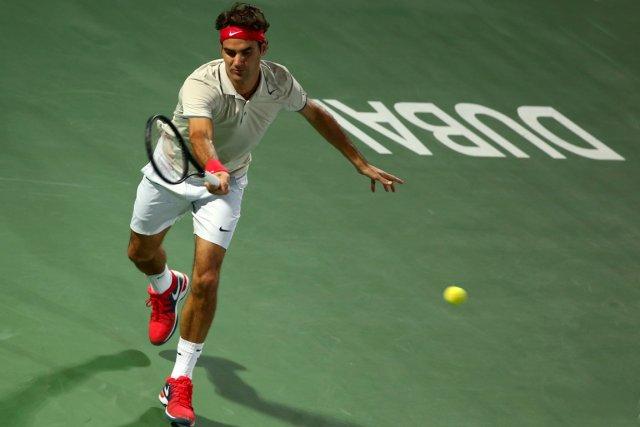 Détenteur de cinq titres à Dubaï, Roger Federer... (Photo Marwan Naamani, AFP)
