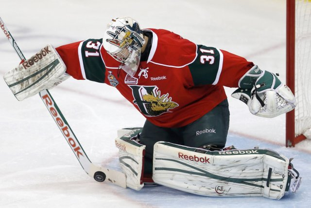 Le gardien des Mooseheads de Halifax Zachary Fucale,... (Photo Todd Korol, Reuters)