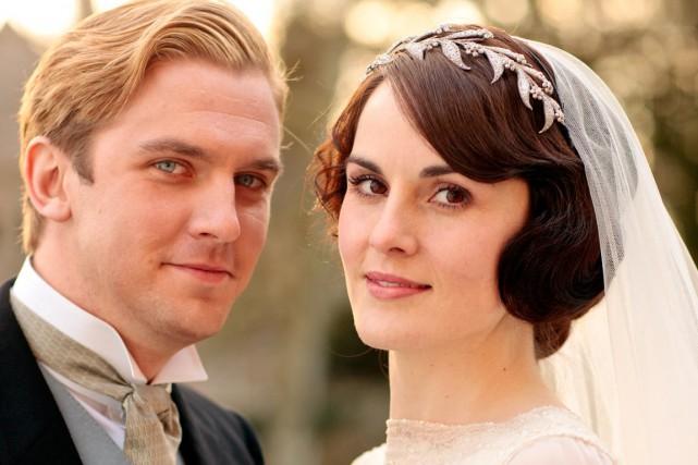 Matthew et de Lady Mary (Dan Stevens et... (Photo: ICI Radio-Canada Télé)
