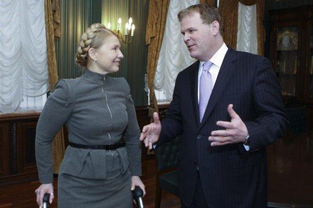 Une des fugures de l'opposition Yulia Tymoshenko a... (Photo Reuters)