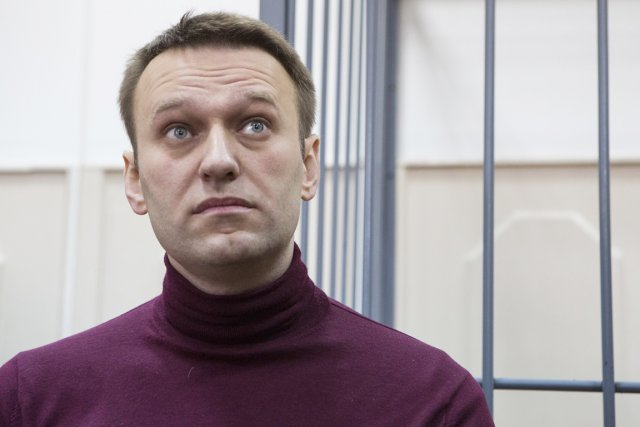 Considéré comme l'opposant numéro un à Vladimir Poutine,... (PHOTO DENIS TYRIN, AP)