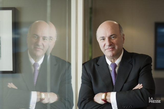 Kevin O'Leary, fondateur de la société de fonds... (Photo Édouard Plante-Fréchette, La Presse)