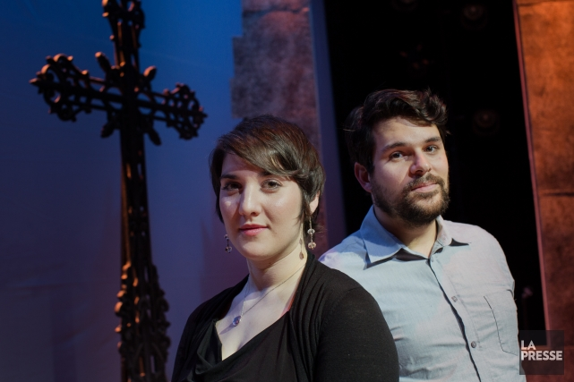 Geneviève Colletta et Julien Horbatuk... (Photo Edouard Plante-Fréchette, La Presse)