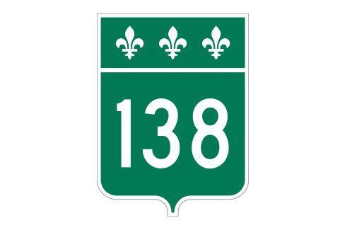 La 138 est fermée à la circulation dans...