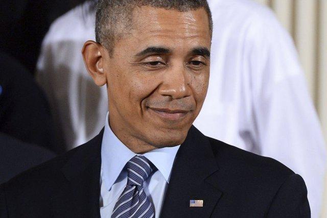 Barack Obama présentera les meilleurs parmi les quelque... (Photo Jewel Samad, Agence France-Presse)