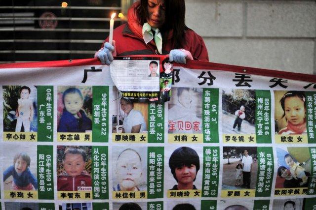 L'enlèvement d'enfants demeure un problème grave en Chine,... (PHOTO ARCHIVES AP)