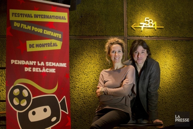 La comédienne et porte-parole du FIFEM Édith Cochrane... (Photo Ivanoh Demers, La Presse)