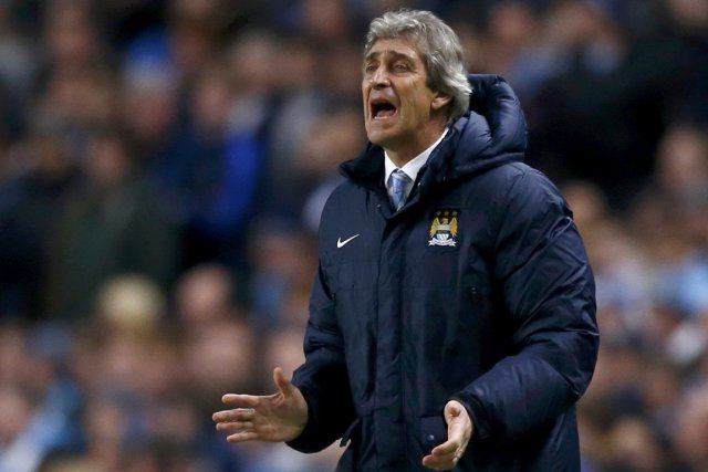 L'entraîneur de Manchester City, Manuel Pellegrini.... (Photo Darren Staples, Reuters)