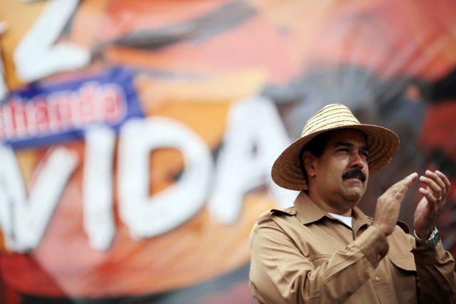 Le président vénézuélien Nicolas Maduro, à Caracas, le... (PHOTO AFP/PRÉSIDENCE VÉNÉZUÉLIENNE)