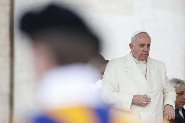 Déjà en novembre dernier le pape François avait... (PHOTO TONY GENTILE, REUTERS)