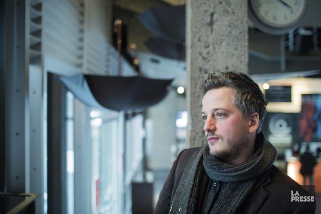 Comme Gaston Miron, Simon Beaulieu vient de Sainte-Agathe-des-Monts.... (Photo Edouard Plante-Fréchette, La Presse)