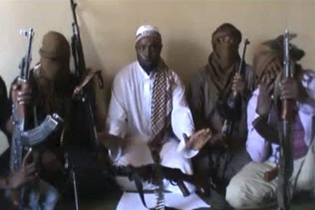 Le chef de Boko Haram Abubakar Shekau, au... (HO)
