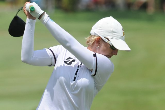Karrie Webb... (Photo Roslan Rahman, AFP)