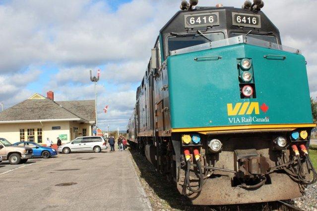 Le Canadien National et VIA Rail Canada doivent... (Photo fournie par Audrey Tremblay)