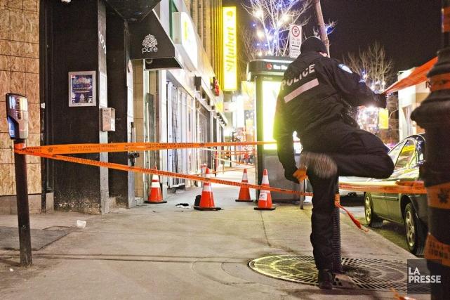 Un homme dans la vingtaine a été trouvé... (PHOTO FÉLIX O.J. FOURNIER, COLLABORATION SPECIALE)