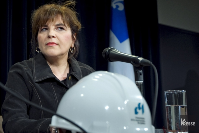 La PDG de la Commission de la construction... (Photo Alain Roberge, archives La Presse)