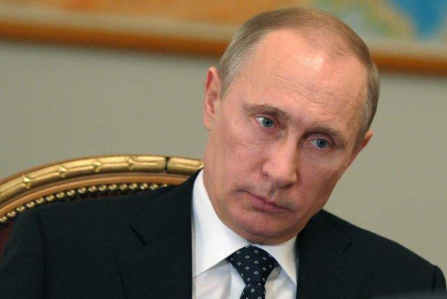 Le président russe Vladimir Poutine.... (Photo Alexei Nikolsky, AP)