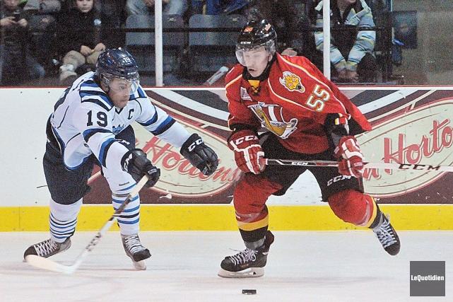 Le choix de cinquième ronde du Canadien en... (Photo Le Quotidien, Michel Tremblay)