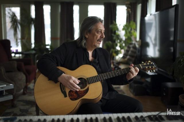 Serge Fiori... (Photo: Martin Chamberland, La Presse)