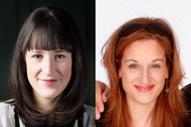 Anne-Élisabeth Bossé et Catherine Lachance...
