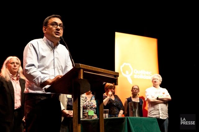 Le président et porte-parole de Québec solidaire, Andrés... (PHOTO ARCHIVES LA PRESSE)