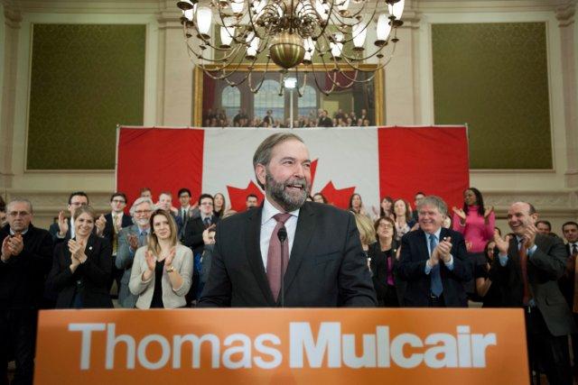 Thomas Mulcair compte sur les succès du NPD... (PHOTO ARCHIVES LA PRESSE CANADIENNE)