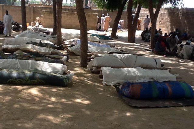 Des islamistes extrémistes ont abattu environ 100 personnes... (Photo archives AFP)