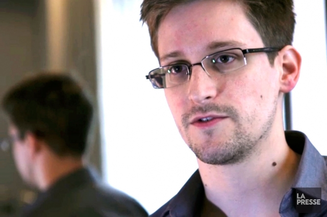 Edward Snowden... (Photo: archives La Presse)