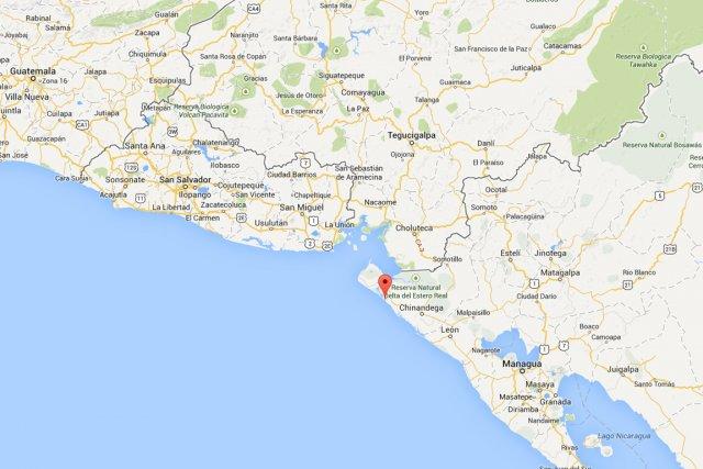 Un séisme de magnitude6,4 a été enregistré au large des côtes du Nicaragua, a... (IMAGE TIRÉE DE GOOGLE IMAGES)