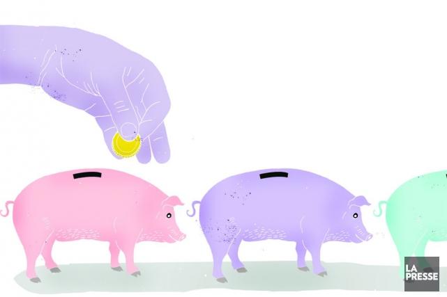 Les employés qui n'ont ni régime de pension... (Illustration Francis Léveillée, La Presse)