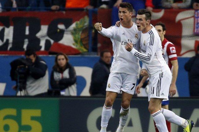 Le Real Madrid, bousculé par l'Atletico, a sauvé de peu sa première place du... (Photo: Reuters)