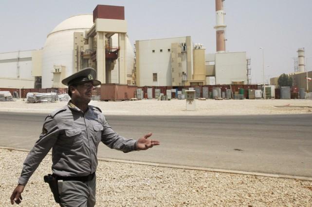 Une centrale nucléaire en iranienne.... (Photo archives)