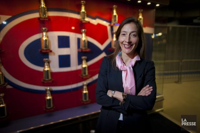 France Margaret Bélanger, 41 ans, occupe l'un des... (PHOTO ANDRÉ PICHETTE, LA PRESSE)
