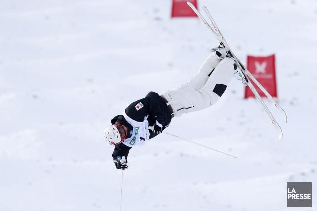 Mikaël Kingsbury a remporté dimanche l'épreuve de bosses... (Photo Hakon Mosvold Larsen, archives Reuters)
