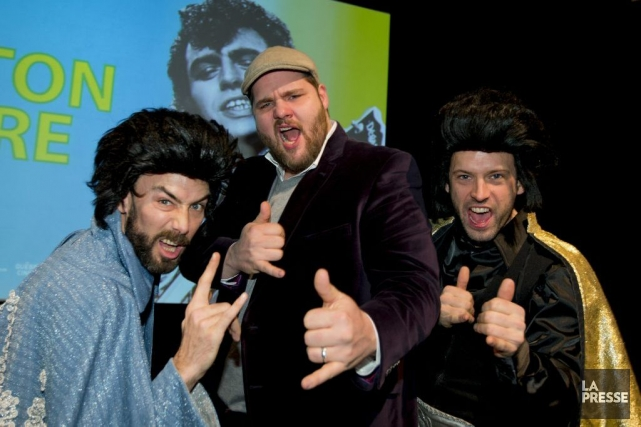 Jean-David «Elvis» Pelletier, Antoine Bertrand et Louis Tremblay... (Photo: Alain Roberge, La Presse)