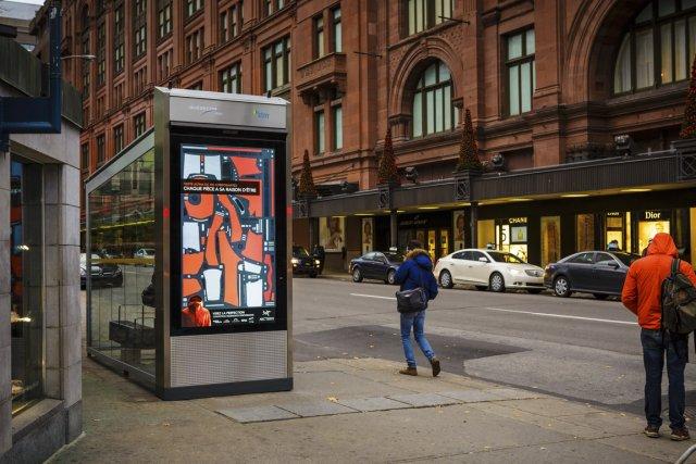 Québecor Québecor Média Affichage, forte d'une entente de... (Photo fournie par Québecor)