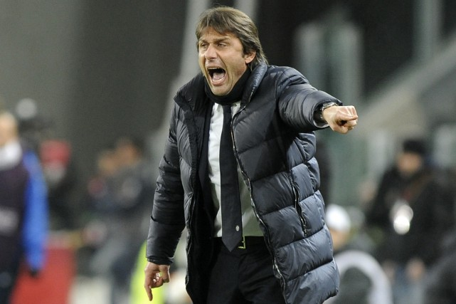 L'entraîneur de la Juventus de Turin, Antonio Conte.... (Photo Giorgio Perottino, archives Reuters)