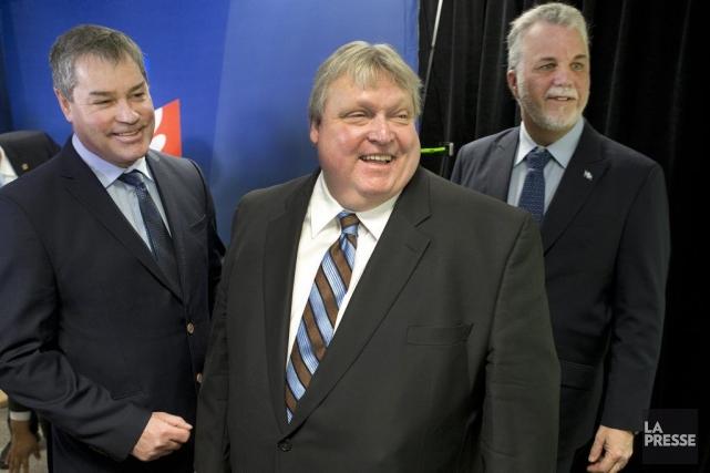 Yves Bolduc, député libéral dans la circonscription de... (Photo Robert Skinner, La Presse)