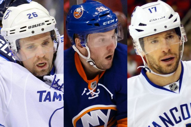 Martin St-Louis (Lightning de Tampa Bay), Thomas Vanek... (Photos USA Today)