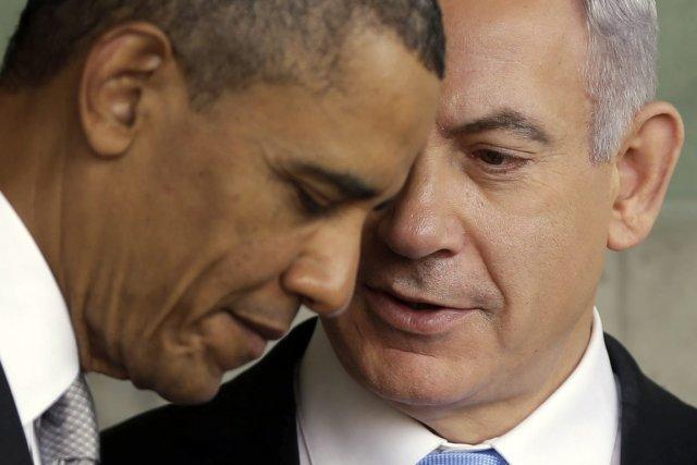 Barack Obama et Benyamin Nétanyahou se sont rencontrés... (PHOTO PABLO MARTINEZ MONSIVAIS, ARCHIVES AP)