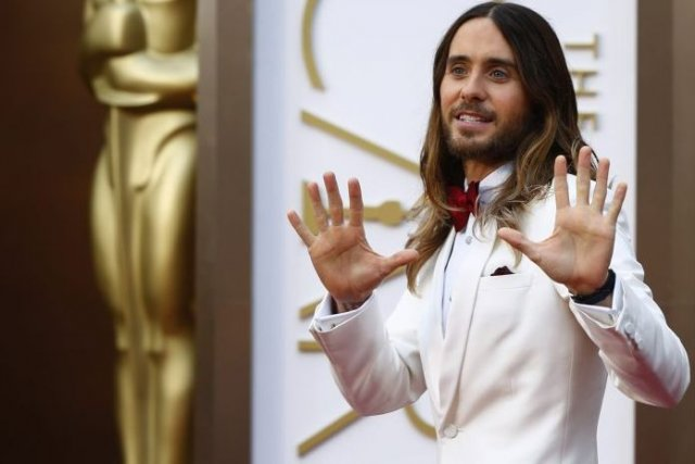 Jared Leto... (Photo: Reuters)