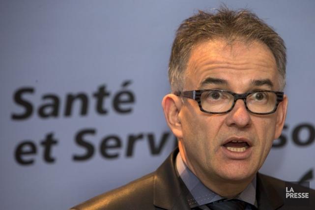 Le ministre de la Santé, Réjean Hébert.... (Photothèque La Presse)