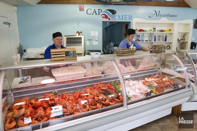 La poissonerie de l'entreprise Cap sur Mer... (Photo Robert Skinner, Archives La Presse)