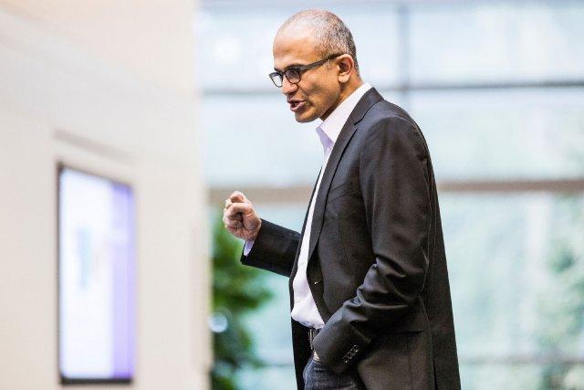 Le nouveau patron de Microsoft, Satya Nadella... (Photo REUTERS)