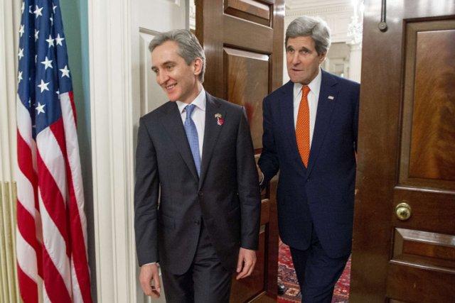 Le Premier ministremoldaveIurieLeanca a été reçu lundi par... (Photo: AFP)