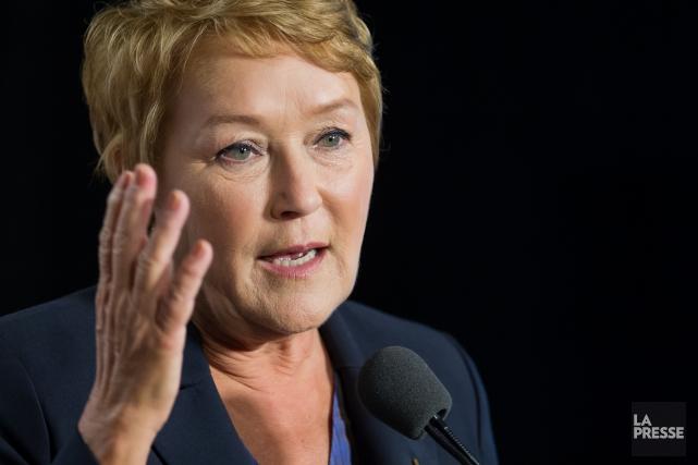 La première ministre, Pauline Marois... (Photo EDOUARD PLANTE-FRÉCHETTE, Archives La Presse)
