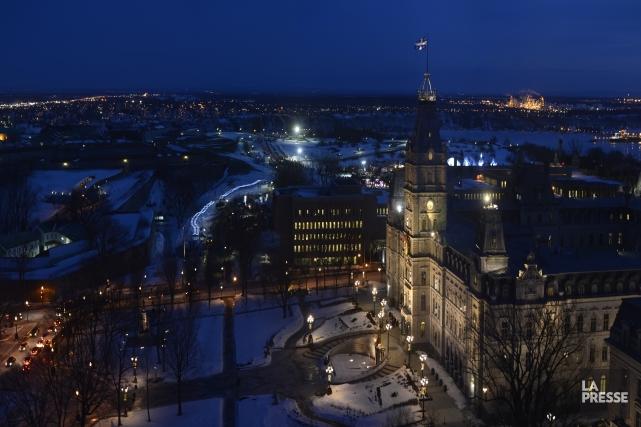 Le parlement de l'Assemblée nationale, à Québec.... (Photo Bernard Brault, archives La Presse)