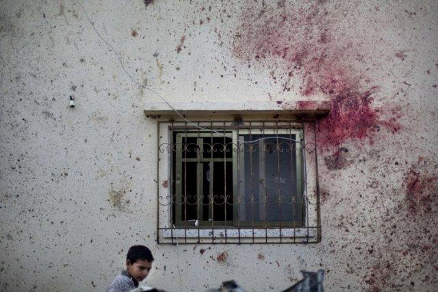Les tirs de roquettes de Gaza vers Israël,... (Photo: AFP)